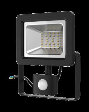Прожектор светодиодный Gauss Elementary LED 30W 2100lm IP65 6500К с датчиком движения 1/24