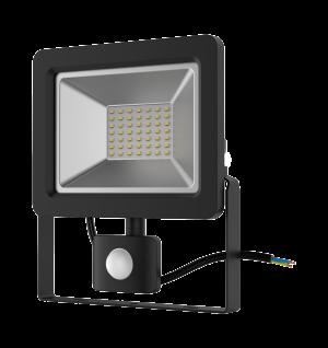 Прожектор светодиодный Gauss Elementary LED 50W 3500lm IP65 6500К с датчиком движения 1/18