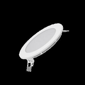 Встраиваемый светильник Gauss ультратонкий круглый IP20 9W, 145х22, ?130, 4100K 660лм 1/20