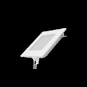 Встраиваемый светильник Gauss ультратонкий квадратный IP20 6W,120х120х22, ?105х105, 2700K 360лм 1/20