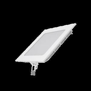 Встраиваемый светильник Gauss ультратонкий квадратный IP20 9W,145х145х22, ?130х130, 2700K 610лм 1/20