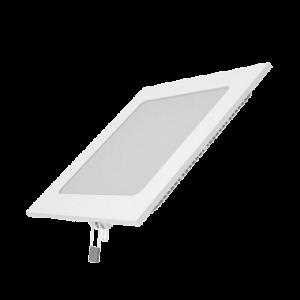 Встраиваемый светильник Gauss ультратонкий квадратный IP20 12W,170х170х22, ?155х155,4100K 880лм 1/20