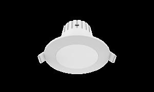 Светильник Gauss Кругл. Белый, 7W,90х90х56, ?65мм, 500 Lm LED 2700K 1/20