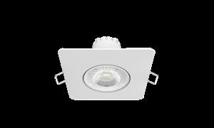 Светильник Gauss Квадрат. Белый, 6W,90х90х56, ?65мм  500 Lm LED 2700K 1/40