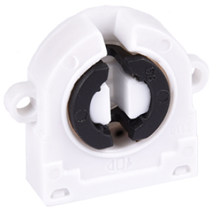 Ecola base G13 патрон торцевой поворотный  с ушками для крепления (1 из уп. по  50)