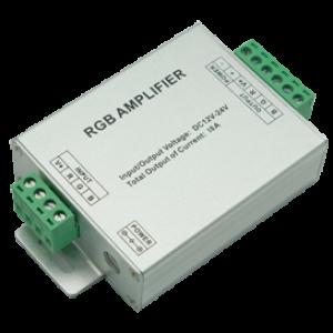 Ecola LED strip RGB Amplifier 216W 12V 18A усилитель для RGB ленты (с винтовыми клеммами)
