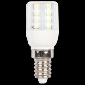 Ecola T25 LED Micro 1,1W E14 4000K 340° кукуруза (для холодил., шв. машинки и т.д.) 63x25 mm