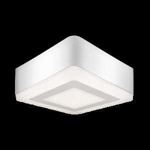 Светильник Gauss Backlight накладной BL222 Квадрат. Акрил, 6+3W, LED 3000K, 145*145, 1/30