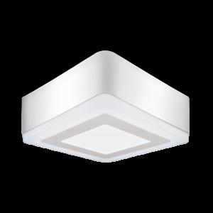 Светильник Gauss Backlight накладной BL223 Квадрат. Акрил, 6+3W, LED 4000K, 145*145, 1/30