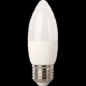 Ecola Light candle   LED  7,0W 220V E27 4000K свеча (композит) 103x37