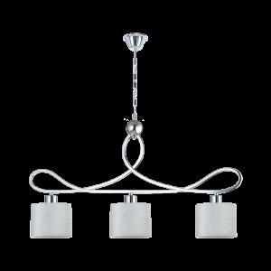 Люстра BENETTI Classic Freddo хром/белый,3хЕ27, коллекция CLS-010