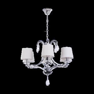 Люстра BENETTI Classic Amabile хром/белый, 6хE14, коллекция CLS-010