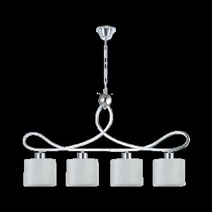 Люстра BENETTI Classic Freddo хром/белый,4хЕ27, коллекция CLS-010