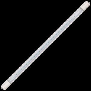 Ecola T8 Premium G13 LED 12,5W 220V 4000K с поворотными цоколями (прозрачное стекло) 605x28 (упак.инд.цв./8/24)