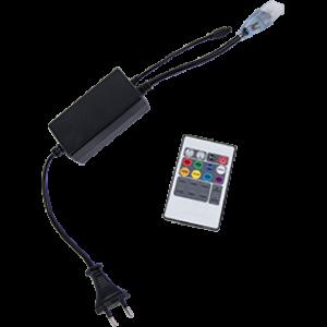 Ecola LED strip 220V RGB IR controller (IP20) 1000W 4,5A для ленты 220V 14x7 IP68 с инфракрасным пультом