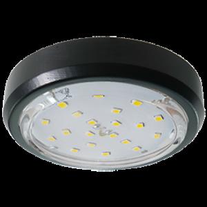 Ecola GX53 5356 Накладной Легкий Черный (светильник) 18x95