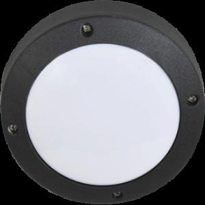 Ecola GX53 LED B4139S светильник накладной IP65 матовый Круг алюмин. 1*GX53 Черный 145x145x65
