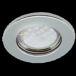 Ecola Light MR16 DL90 GU5.3 Светильник встр. плоский Хром 30x80 - 2pack (кd74)