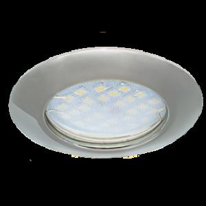 Ecola Light MR16 DL92 GU5.3 Светильник встр. выпуклый Хром 30x80 - 2pack (кd74)