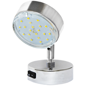 Ecola GX53 FT3173 светильник поворотный на коротком кроншт. хром 150х80
