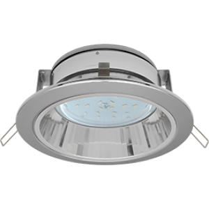 Ecola GX53 H2R Downlight with reflector_chrome (светильник) 58x125
