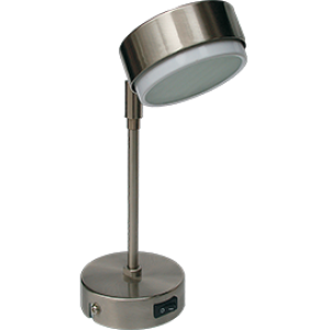Ecola GX53 FT5173 светильник поворотный на длинном кроншт. сатин-хром 253х80