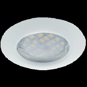 Ecola Light MR16 DL92 GU5.3 Светильник встр. выпуклый Белый 30x80 (кd74)