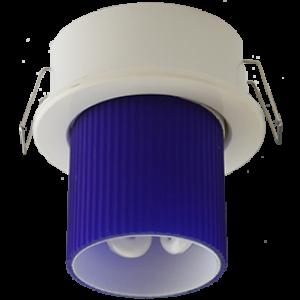 Ecola GX40 DGX40E Светильник встраиваемый белый 30x75