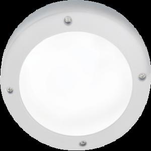 Ecola GX53 LED B4139S светильник накладной IP65 матовый Круг алюмин. 1*GX53 Белый 145x145x65