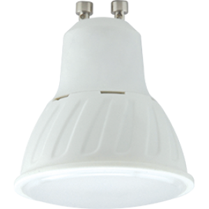 Ecola Reflector GU10  LED 10,0W  220V 2800K (композит) 57x50