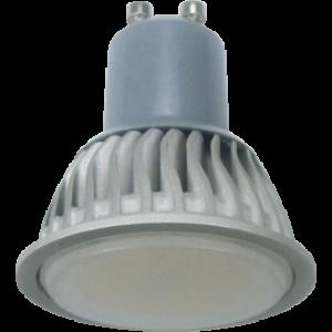 Ecola Reflector GU10  LED  7,0W 220V 6500K (ребристый алюм. радиатор) 56x50
