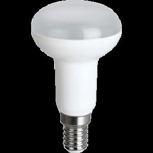 Ecola Reflector R50   LED  8,0W  220V E14 2800K (композит) 87x50