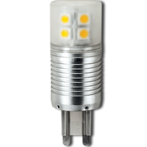 Ecola G9  LED  4,1W Corn Mini 220V 4200K 300° (алюм. радиатор) 65x23