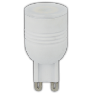 Ecola G9  LED  3,3W Ceramic Mini 220V 2800K 180° (керамика) 49x23