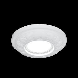 Светильник Gauss Gypsum GY008 белый, Gu5.3, d100 1/24