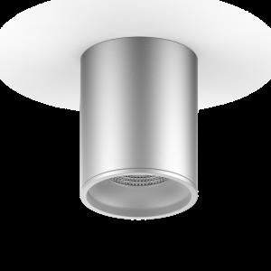 LED светильник накладной HD004 12W (хром сатин) 4100K 79x100,920лм, 1/30