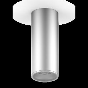 LED светильник накладной HD005 12W (хром сатин) 3000K 79x200,900лм, 1/30