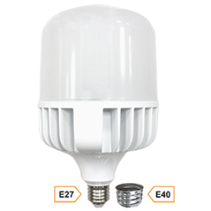 Ecola High Power LED Premium  80W 220V универс. E27/E40 (лампа) 4000K 280х140mm