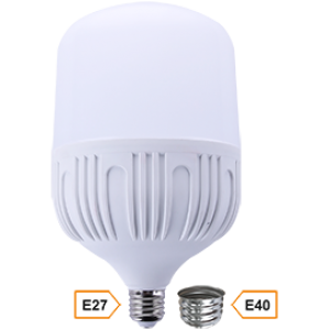 Ecola High Power LED Premium  50W 220V универс. E27/E40 (лампа) 2700K 230х140mm