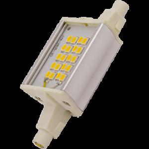 Ecola Projector   LED Lamp Premium  6,0W F78 220V R7s 2700K (алюм. радиатор) 78x20x32