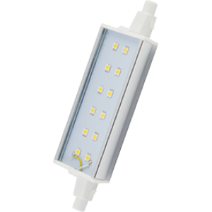 Ecola Projector   LED Lamp Premium 12,0W F118 220V R7s 2800K (алюм. радиатор) 118x20x32