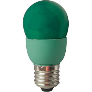 Ecola globe Color 9W 220V E27 Green Зеленый 91x46