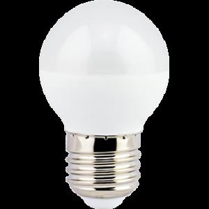 Ecola globe   LED  7,0W G45  220V E27 6500K шар (композит) 75x45
