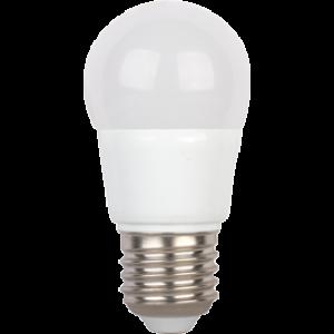Ecola globe   LED  5,4W G45  220V E27 4000K шар (композит) 89x45