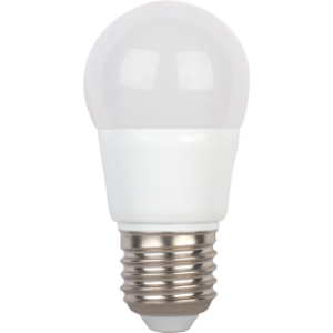 Ecola globe   LED  5,4W G45  220V E27 2700K шар (композит) 89x45