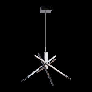 Светодиодная люстра BENETTI LED Geometria хром, 35Вт 3000K, 1100 Lm,коллекция LED-030