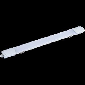 Ecola LED linear IP65 тонкий линейный светодиодный светильник (замена ЛПО) 40W 220V 4200K 1245x60x30