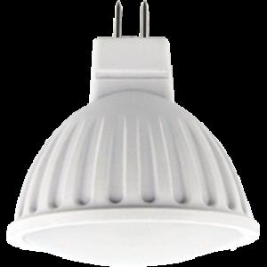 Ecola MR16   LED  8,0W  220V GU5.3 6000K матовое стекло (композит) 51x50