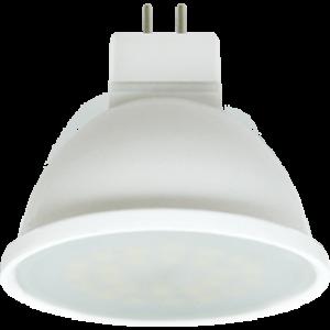 Ecola MR16   LED  7,0W  220V GU5.3 4200K матовое стекло (композит) 48x50