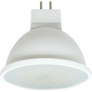 Ecola MR16   LED  7,0W  220V GU5.3 2800K матовое стекло (композит) 48x50
